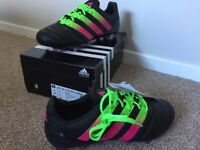 Adidas Ace 16.1 RRP £150 FG AG Black UK 6 US 6.5 EU 39.3 Football Soccer Boots