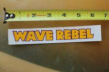 Wave Rebel Body Boards Boogey Belly Bodyboarding V17 Vintage Surfing Sticker