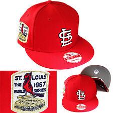 New Era MLB Saint Louis Cardinals Snapback Hat 1967 World Series Side Patch Cap