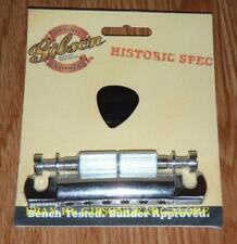 Gibson Les Paul Tailpiece Historic Nickel Aluminum Stop Guitar Parts R9 R8 R7 R0