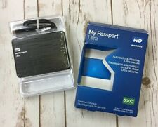 WD 500GB My Passport Ultra Portable Hard Drive USB WX41A844UA34 OPEN BOX 2.0 3.0