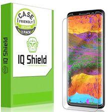Galaxy S9 Plus Screen Protector [2-Pack], IQ Shield LiQuidSkin Bubble-Free [C...