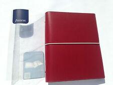 Filofax A5 Domino Red