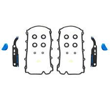 2 Set of Timing Chain Tensioner Valve Cover Gasket For Audi VW V8 4.2 077198025A