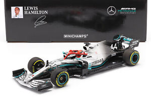 L. Hamilton Mercedes-AMG F1 W10 #44 Monaco GP Weltmeister F1 2019 1:18 Minichamp