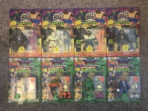 Teenage Mutant Ninja Turtles Universal Monsters Series 1 & 2 1993,1994 lot TMNT