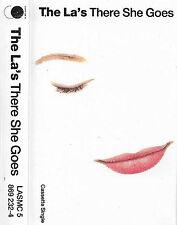 The La's There She Goes CASSETTE SINGLE Indie Rock LASMC 5, Go! Discs 