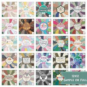 First Edition 12x12 paper pad - various inc Christmas - sample - full FREE P&P
