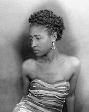 Vintage Photo ... 1930s Jazz Era African Americam Woman ... Photo Print 8x10