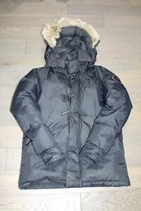 Authentic Men's Canada Goose Calgary Parka Size M Black