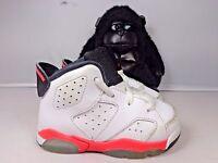 Baby Nike Air Jordan 6 VI Retro 384667-123  Basketball shoes size 5 C