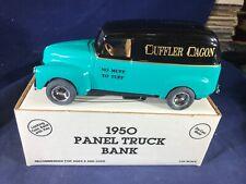 Y1-13 ERTL DIE CAST BANK - 1950 PANEL TRUCK - NIB - MUFFLER WAGON
