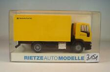 Rietze 1/87 Nr. 60600 Iveco Eurotec Koffer Deutsche Post AG OVP #3151
