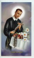 ST. GERARD - SAFE DELIVERY - Laminated  Holy Cards.  QUANTITY 25 CARDS