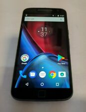 Motorola Moto G4 Plus 16GB(XT1644)Black-Consumer Cellular GSM Unlocked-See Below