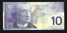 2001 $10 Bank Of Canada $10 Dollar Bank Note Circulated