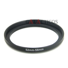 52mm to 58mm 52-58mm Lens Filter Step-Up Adapter Ring