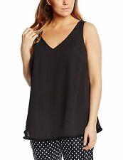 New Look V Neck Plus Size Sleeveless Tops & Shirts for Women