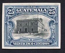 Guatemala 1900s 25 centavos stamp MH Proof R!R!R!