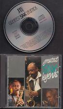 GREATEST JAZZ LEGENDS Korea CD DEXTER GORDON BUD FREEMAN BEN WEBSTER DON BYAS