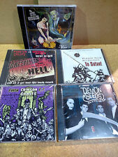 5 CD Lot Horror Surf Garage Punk Misfits Crimson Ghosts MA Ghastly Ones Deadbolt