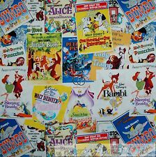 BonEful Fabric Cotton Quilt Disney Movie Comic B&W 101 Dalmatian Dog Sale SCRAP