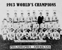 1913 Philadelphia Americans Athletics Photo 8X10 - A's Mack Collins Plank