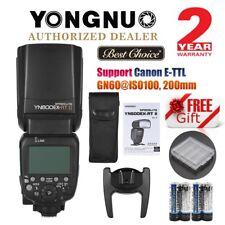 Yongnuo YN600EX-RT II Wireless Flash TTL Slave Master HSS For Canon Camera UK