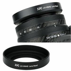 JJC LH-HN40 Lens Hood Shade Fr Nikon NIKKOR Z DX 16-50mm f/3.5-6.3 VR Lens HN-40