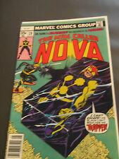 Nova #19 - 1st Appearance of Blackout VF+, Bronze Age Key