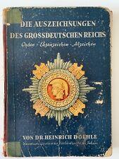 Die Auszeichnungen des Grossdeutschen Reichs