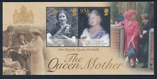 2002 SOUTH GEORGIA QUEEN MOTHER MEMORIAL MINISHEET FINE MINT MNH
