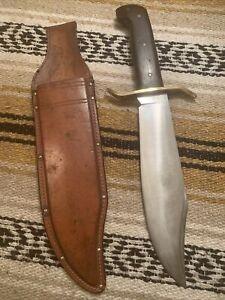 Rare Early 1964, 1st Generation, Western USA W49 Bowie  Fighting Knife W/ Sheath