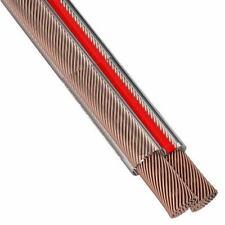 30 m Lautsprecherkabel 2x 0,75 mm², Lautsprecher Kabel, Boxenkabel CCA Kupfer T