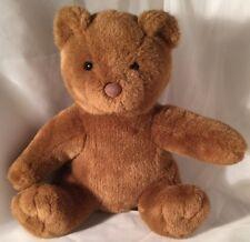 "Teddy Bear Stuffed Animal With Hugs And Good Wishes Build A Bear 15"" Brown BAB"