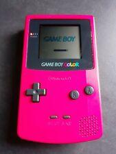 Game Boy Color rot mit Bedienungsanleitung