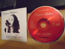 RARE ADV PROMO Regina Spektor CD Begin To Hope SIDE 1 sampler THE STROKES Cringe