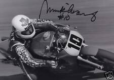 Mick Grant Hand Signed Photo 12x8.