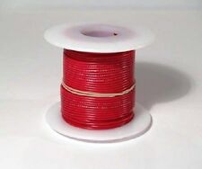 26 AWG UL1007 UL1569 Hook-up Wire 100 foot spools RED ~ 10 Colors Available!