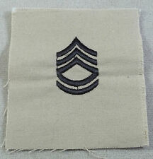 US Army Tan Cloth Rank Insignia Sergeant First Class