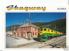 America Railways Postcard - Skagway, Alaska    EB233