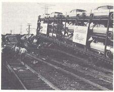 Illinois Central Railroad Train Wrecks 1912-1983 PDF Files on CD Rom