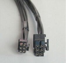 50PCS  Mac Pro/G5 mini 6pin to 6pin PCI-E MAC video card power cable 35cm