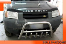LAND ROVER FREELANDER 1998-2003 PARE-BUFFLE BAS AVEC GRILLE DE PROTECTION INOX