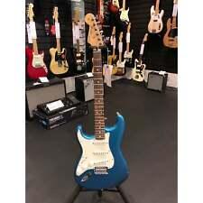 Fender Standard Stratocaster   Left Handed   Lake Placid Blue   RW   Ex Display