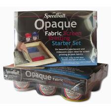 Speedball Screen Prtg Opaque Ink Starter Set