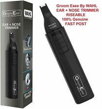Wahl Mens Cordless Ear Nasal Nose Hair Trimmer Clipper Eyebrow Grooming Cutter