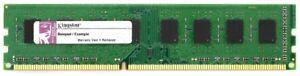 1GB Kingston DDR3-1333 RAM PC3-10600U CL9 KTH9600B/1G Memory Desktop