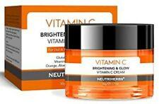 Vitamin C Moisturiser Face Cream Serum - Hyaluronic Acid-Glutathione-anti ageing