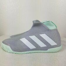 Adidas Stycon Men's Tennis Shoes Gray Green Racket Racquet Racket Nwt Eg2211